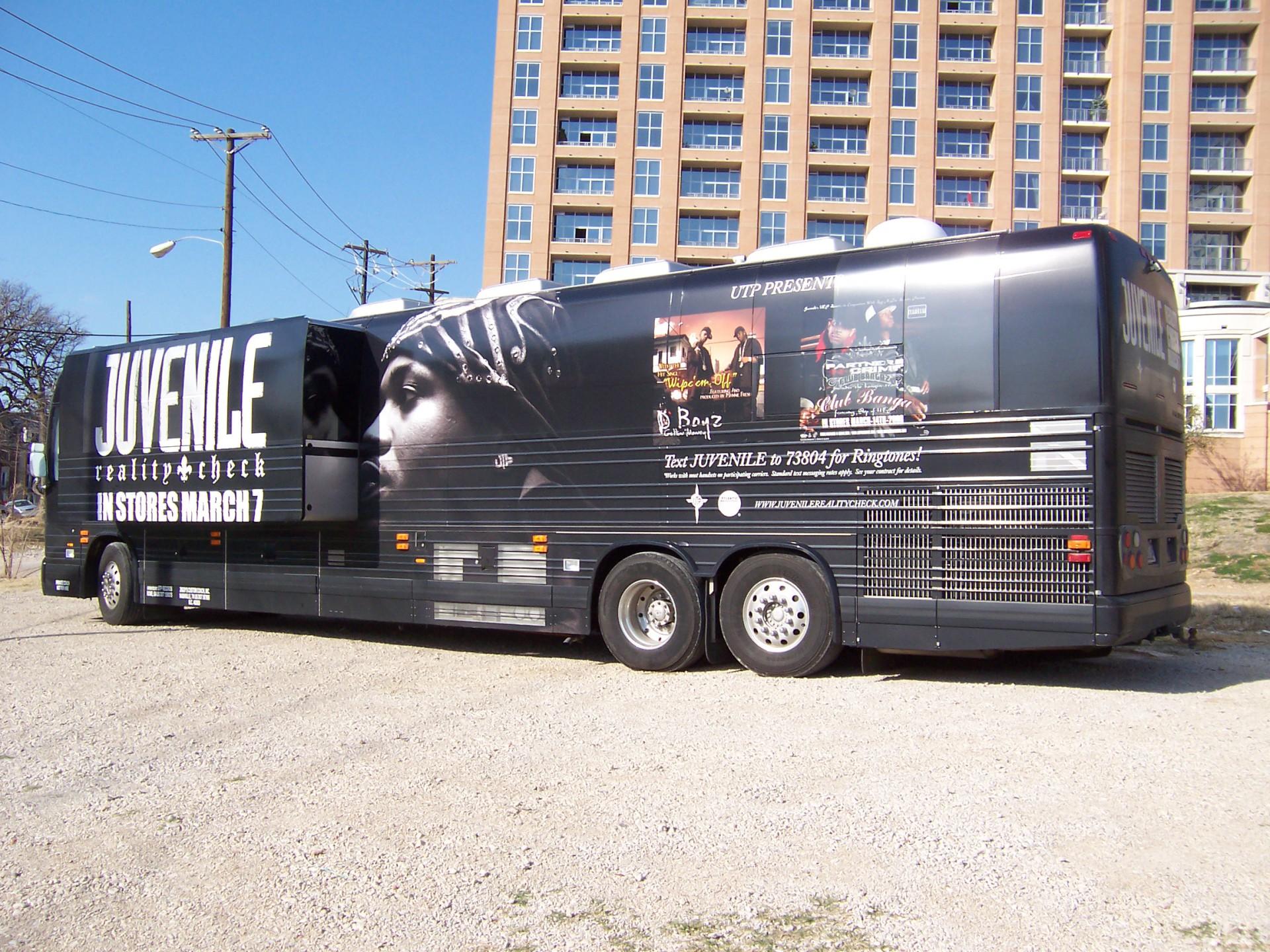 Juvenile Tour Bus