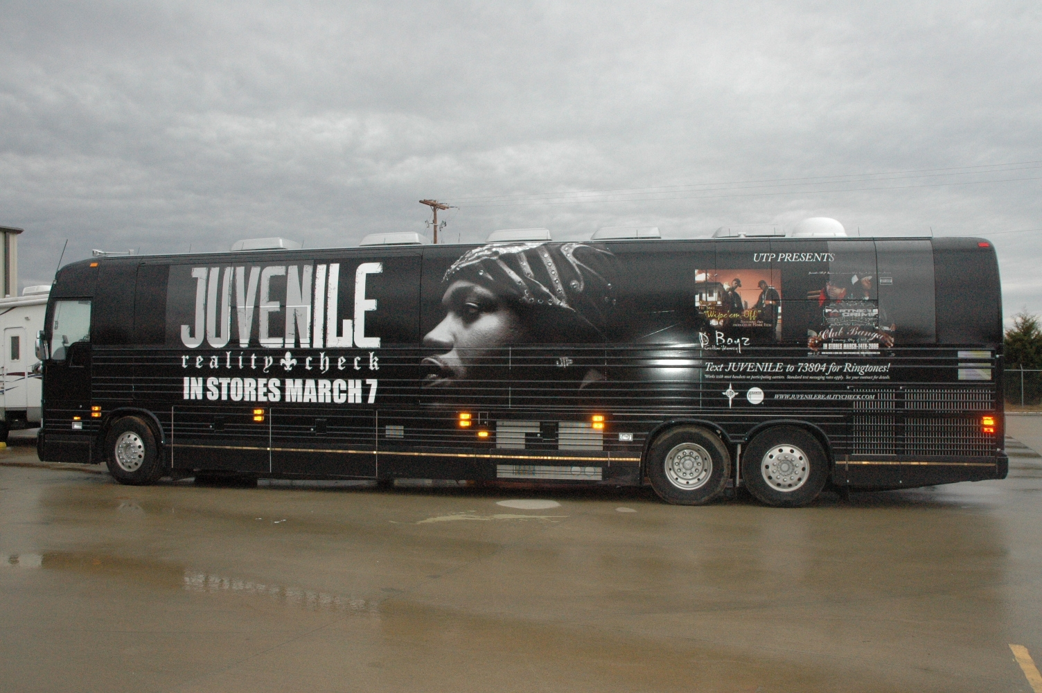 Juvenile Tour Bus