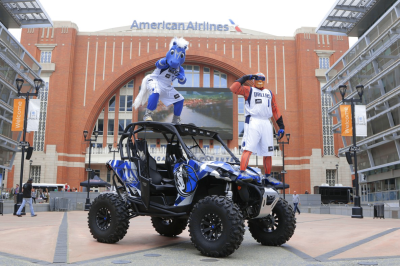 Dallas Mavericks ATV custom wrap
