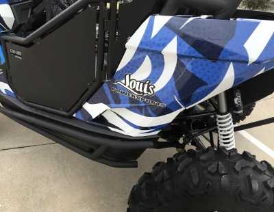 Dallas Mavericks ATV Can-Am Wrap