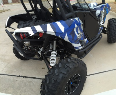 Dallas Mavericks ATV Wrap American Airlines Center