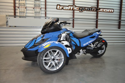Can Am Spyder Wrap Dallas