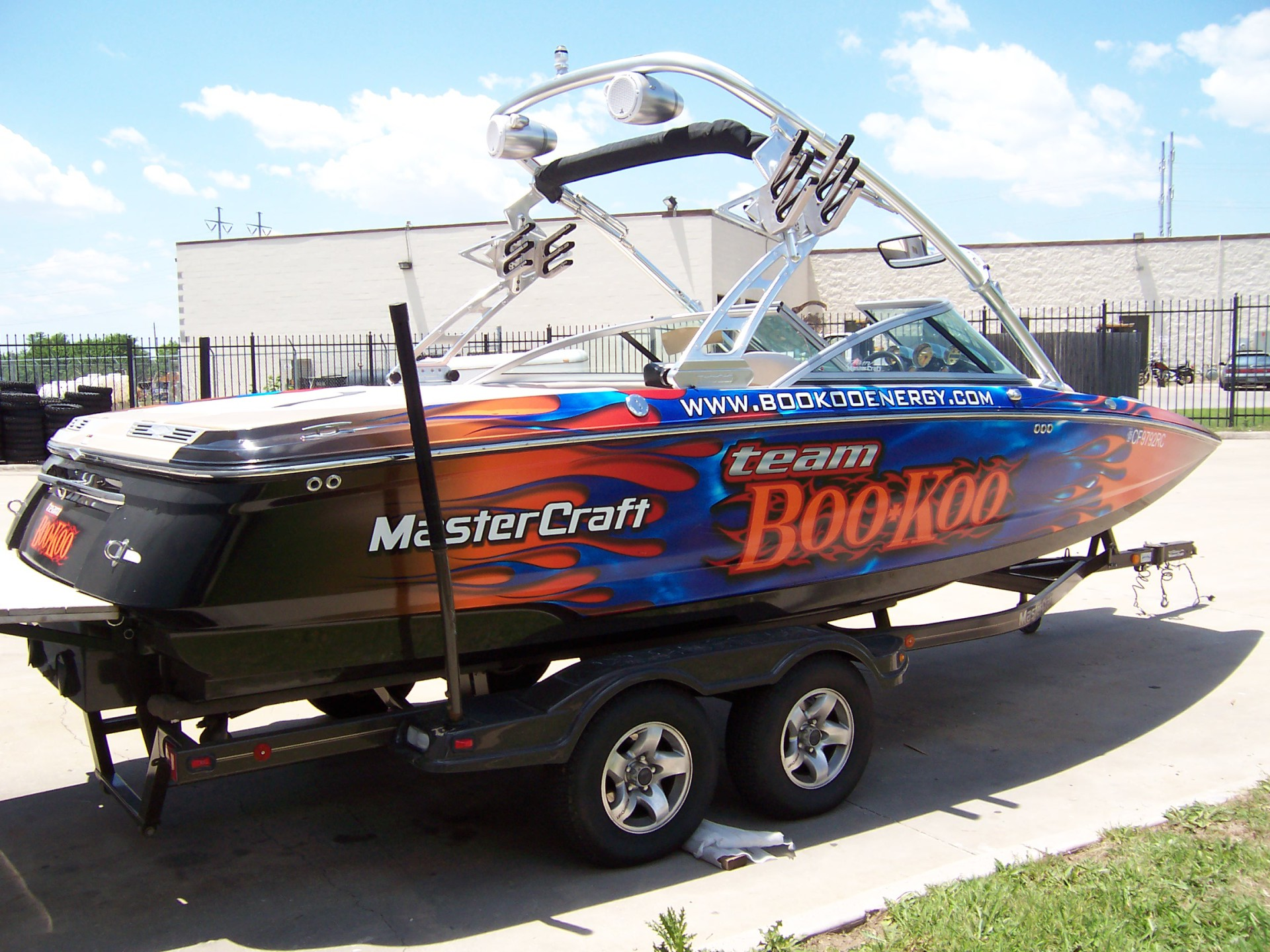 Small boat wrap DFW