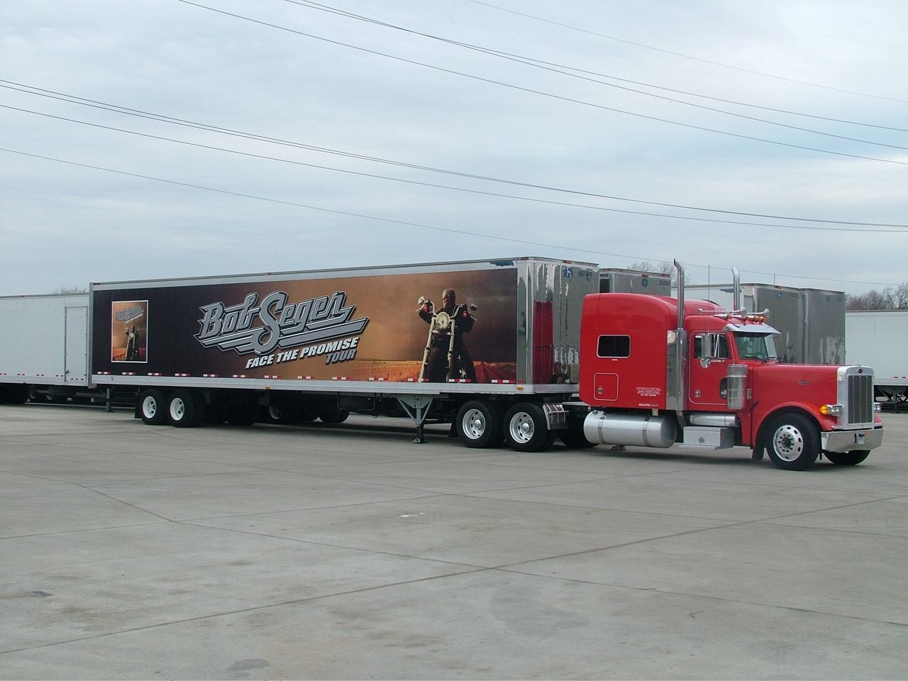 Bob Segar Trailer wrap ft worth texas, dallas texas trailer wraps, best trailer wraps DFW