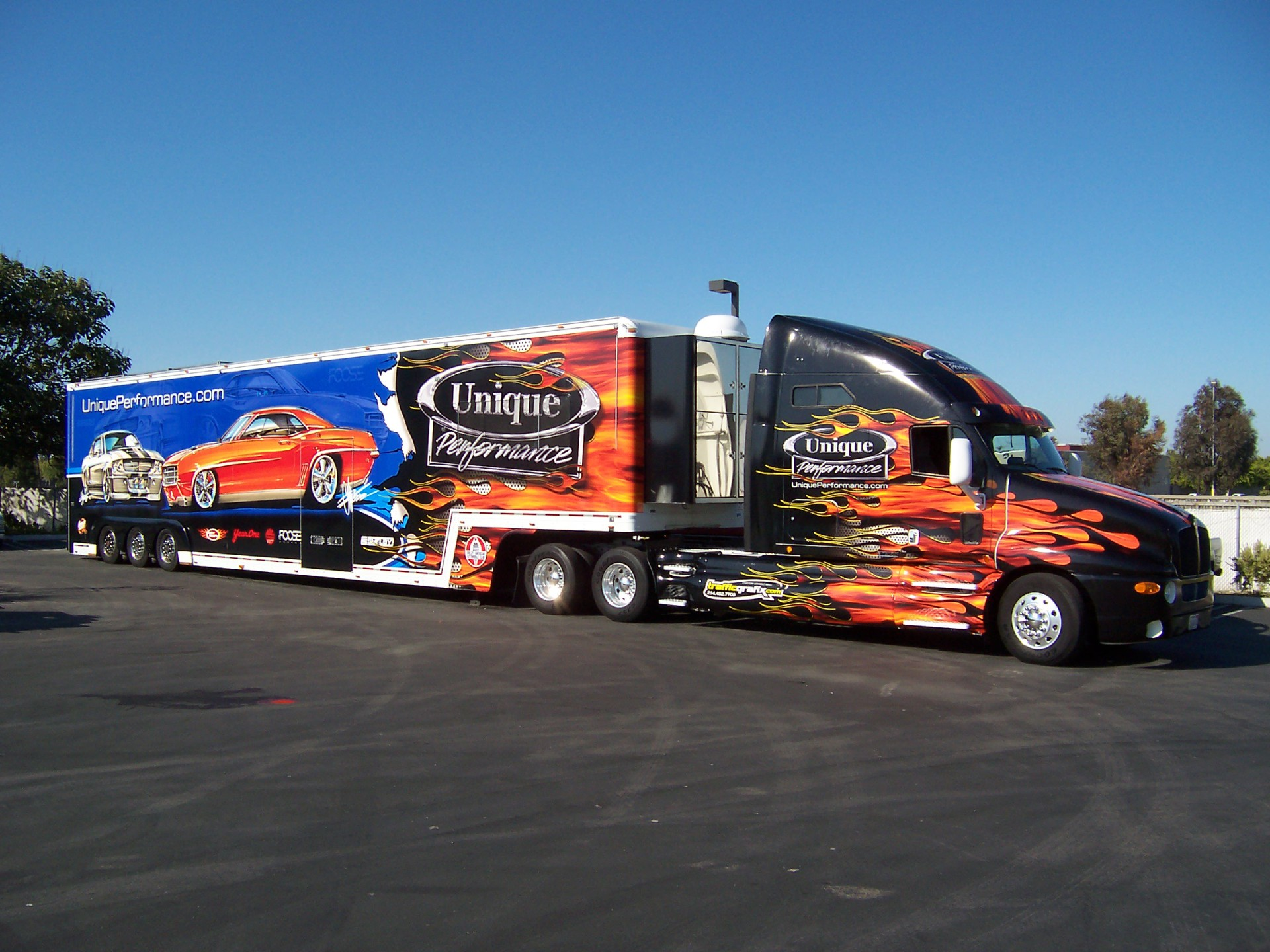 Car Hauler Wrap, Trailer wrap Dallas Texas, Custom vehicle wrap