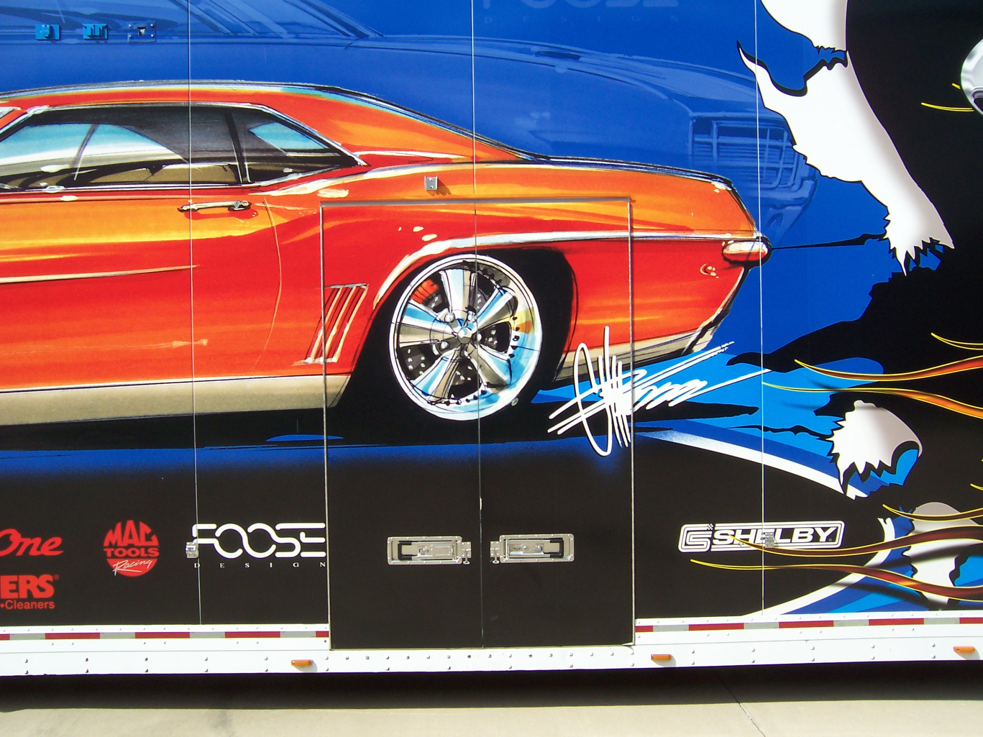 Chip foose vehicle wrap, Trailer wrap, Best vehicle wrap shop Dallas