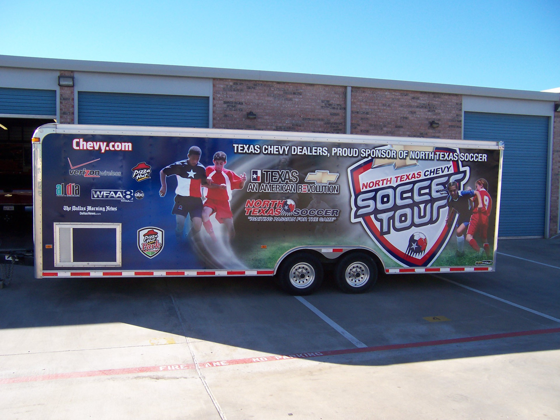 Trailer Wrap Frisco Texas, Trailer wrap dallas, Best trailer wrap in Dallas