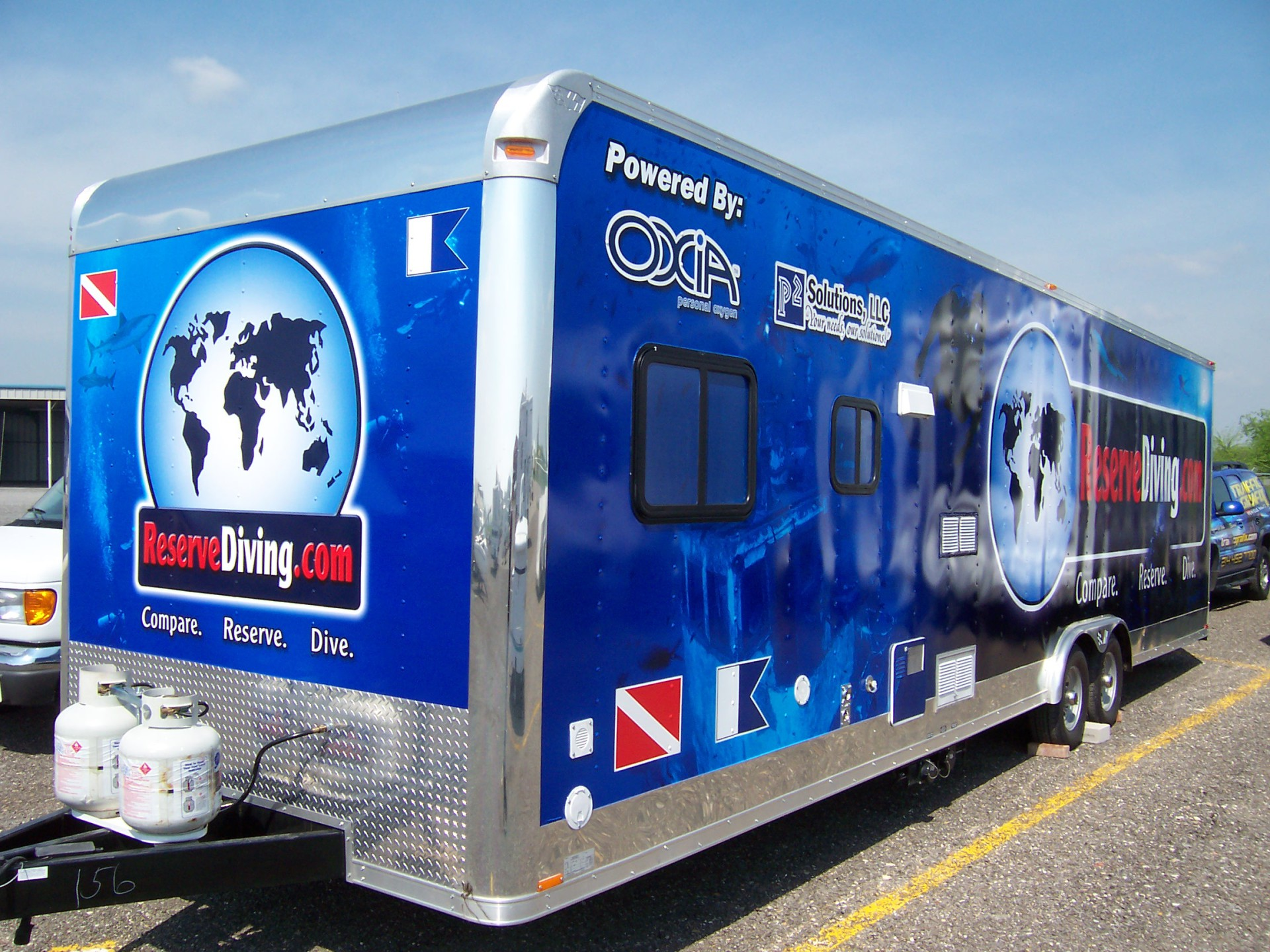 Trailer wraps DFW, best trailer wraps dfw, trailer graphics, trailer decals