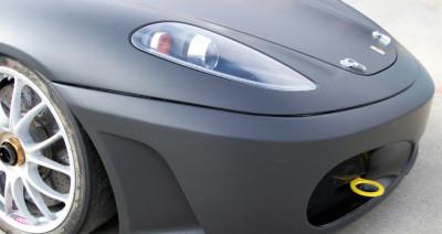 Ferrari Wrap Plano, matte black ferrari, matte black wrap, matte black wraps dallas, dallas vehicle wraps, dallas car wraps, color change wraps dallas, best matte wrap dallas