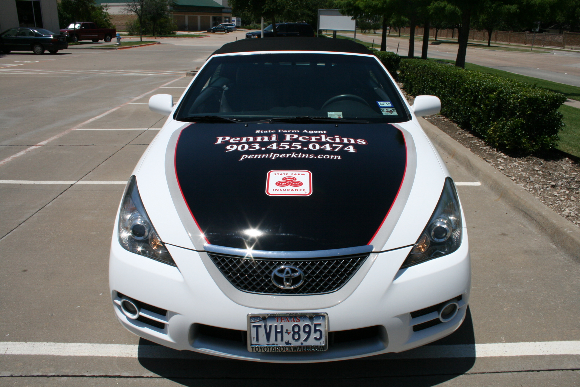 State Farm Agent Penni Perkins, State Farm Vehicle Wraps, vehicle wraps dallas tx