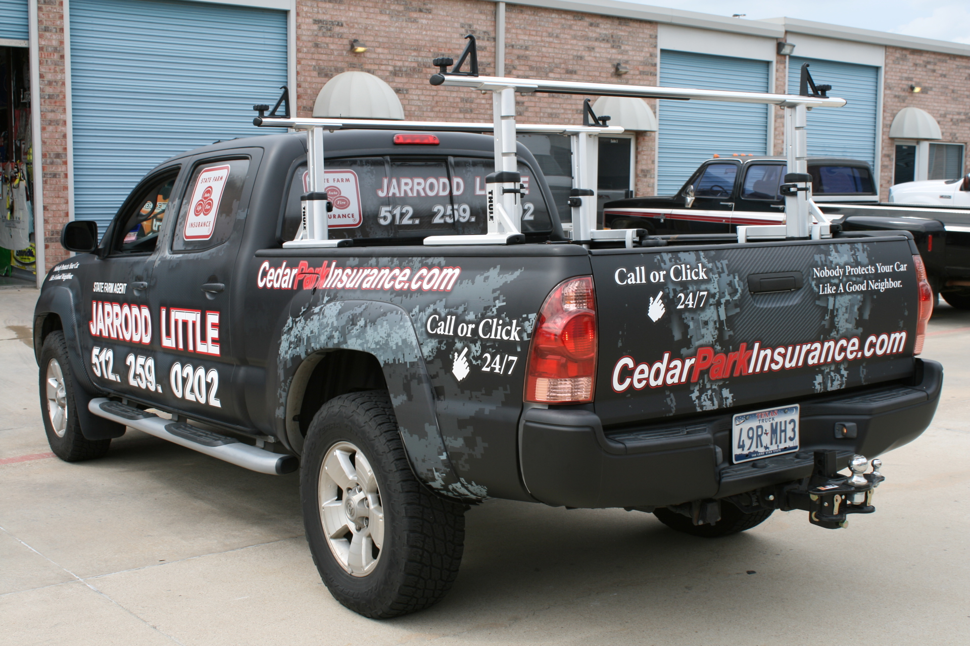 State Farm Agent Jarrodd Little, State Farm Vehicle Wraps, vehicle wraps dallas tx