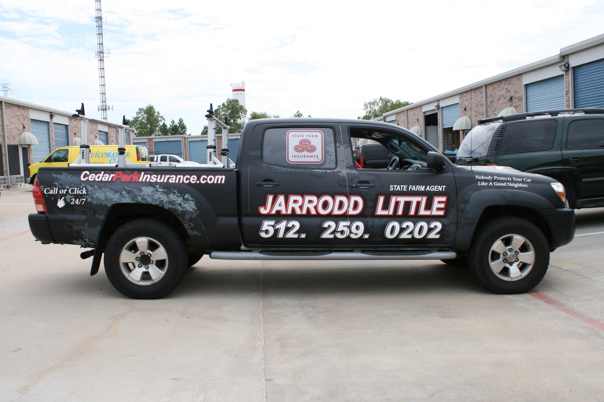 State Farm Agent Jarrodd Little, State Farm Vehicle Wraps, vehicle wraps dallas tx