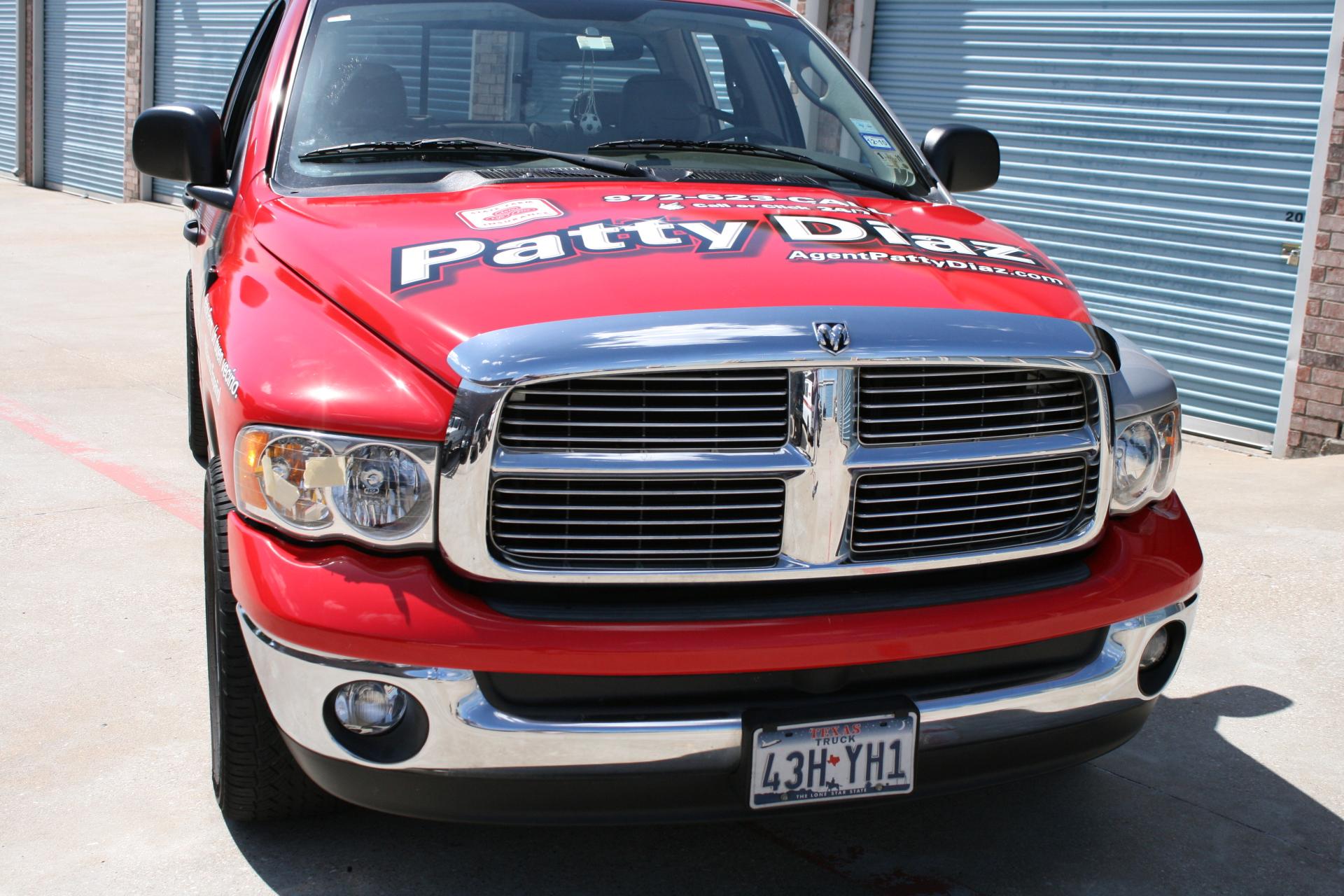 State Farm Agent Patty Diaz, Vehicle wrap Dallas TX, State Farm Vehicle Wrap