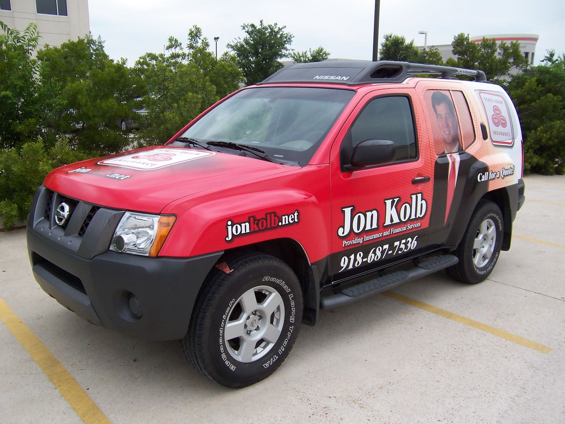State Farm Agent Jon Kolb, State Farm Wraps, Vehicle Wraps Dallas TX