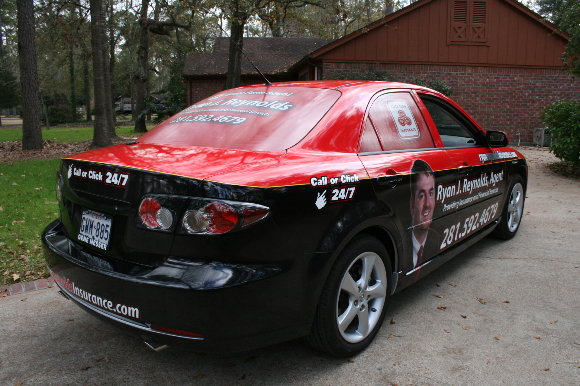 State Farm Agent Ryan J Reynolds, State Farm Wraps, Vehicle Wraps Dallas TX