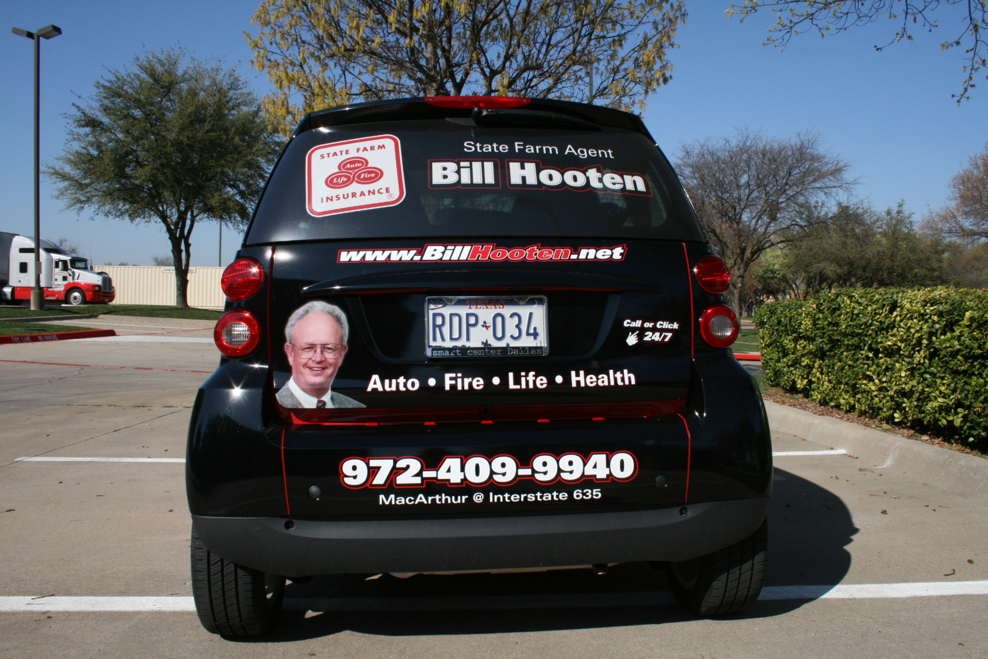 State Farm Agent Bill Hooten, State Farm Wraps, Vehicle Wraps Dallas TX