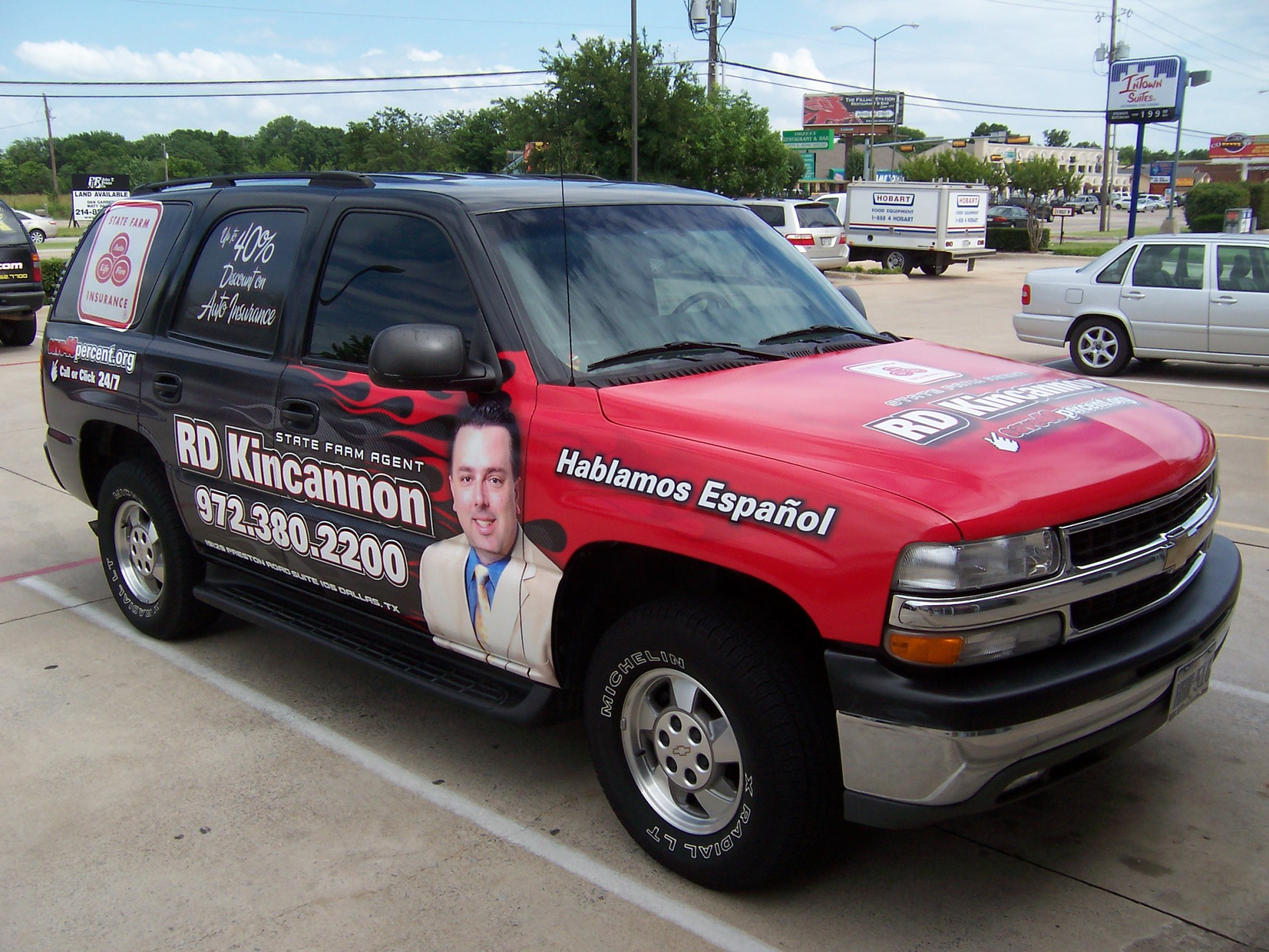 State Farm Agent RD Kincannon, State Farm Vehicle Wraps, vehicle wraps dallas tx