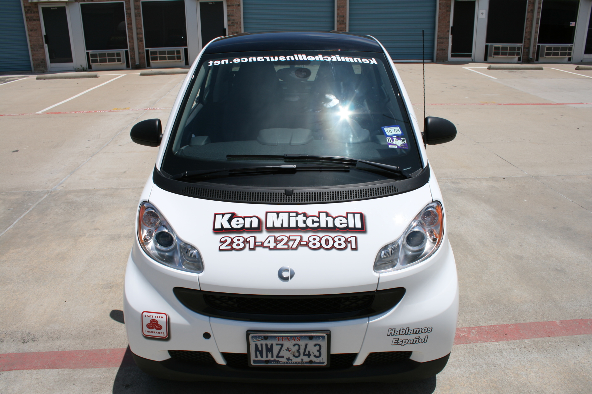 State Farm Agent Ken Mitchell , State Farm Vehicle Wraps, vehicle wraps dallas tx