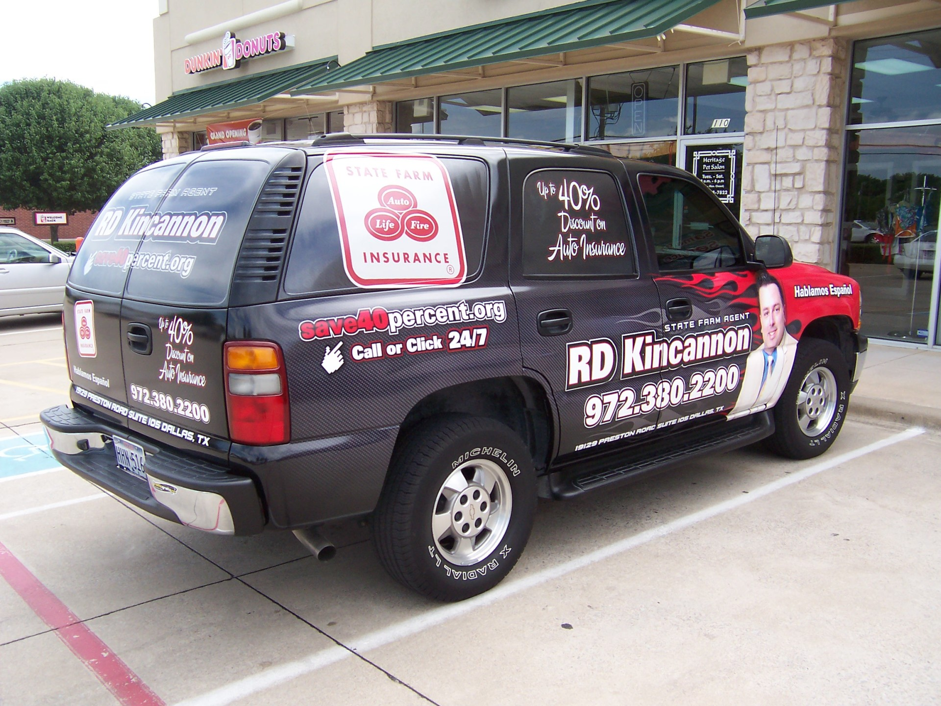 State Farm Agent RD Kincannon , State Farm Vehicle Wraps, vehicle wraps dallas tx