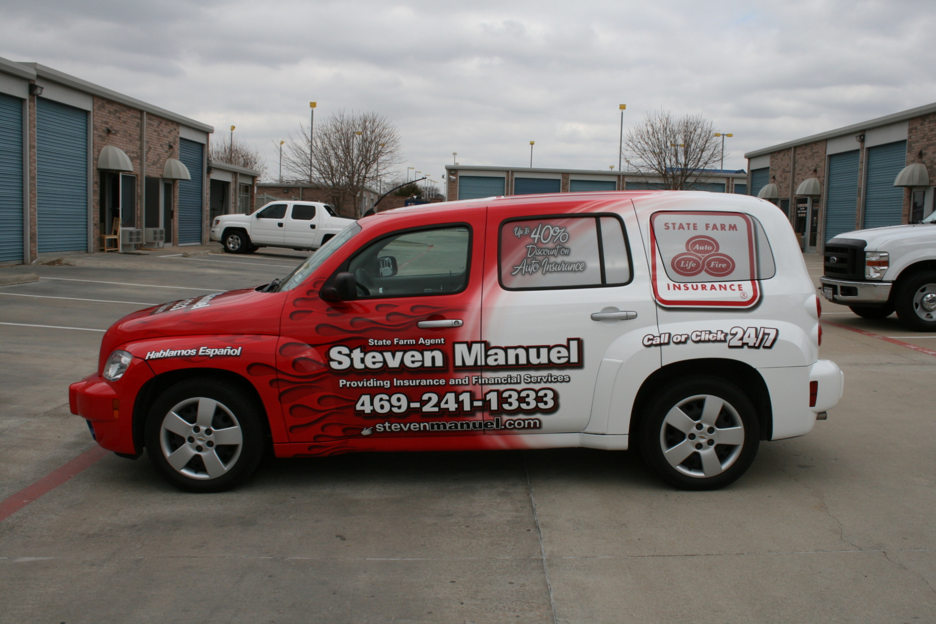 State Farm Agent Steven Manual , State Farm Vehicle Wraps, vehicle wraps dallas tx
