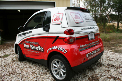 State Farm Agent Tim Keefe , State Farm Vehicle Wraps, vehicle wraps dallas tx