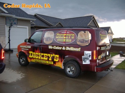 Dickey's Vehicle Wraps, Vehicle Wraps Dallas TX