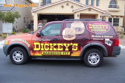 Dickey's Vehicle Wraps, Vehicle Wraps Dallas TX