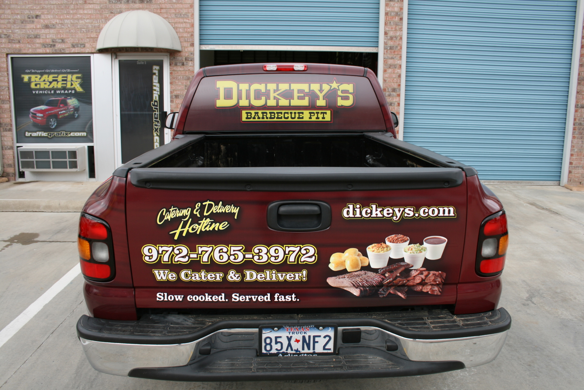 Dickey's Coppell TX,  Dickey's Vehicle Wraps, Vehicle Wraps Dallas TX