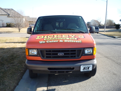 Dickey's Topeka KS,  Dickey's Vehicle Wraps, Vehicle Wraps Dallas TX