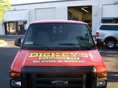 Dickey's Fremont CA,  Dickey's Vehicle Wraps, Vehicle Wraps Dallas TX