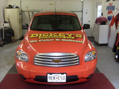 Dickey's Gambrills MD,  Dickey's Vehicle Wraps, Vehicle Wraps Dallas TX