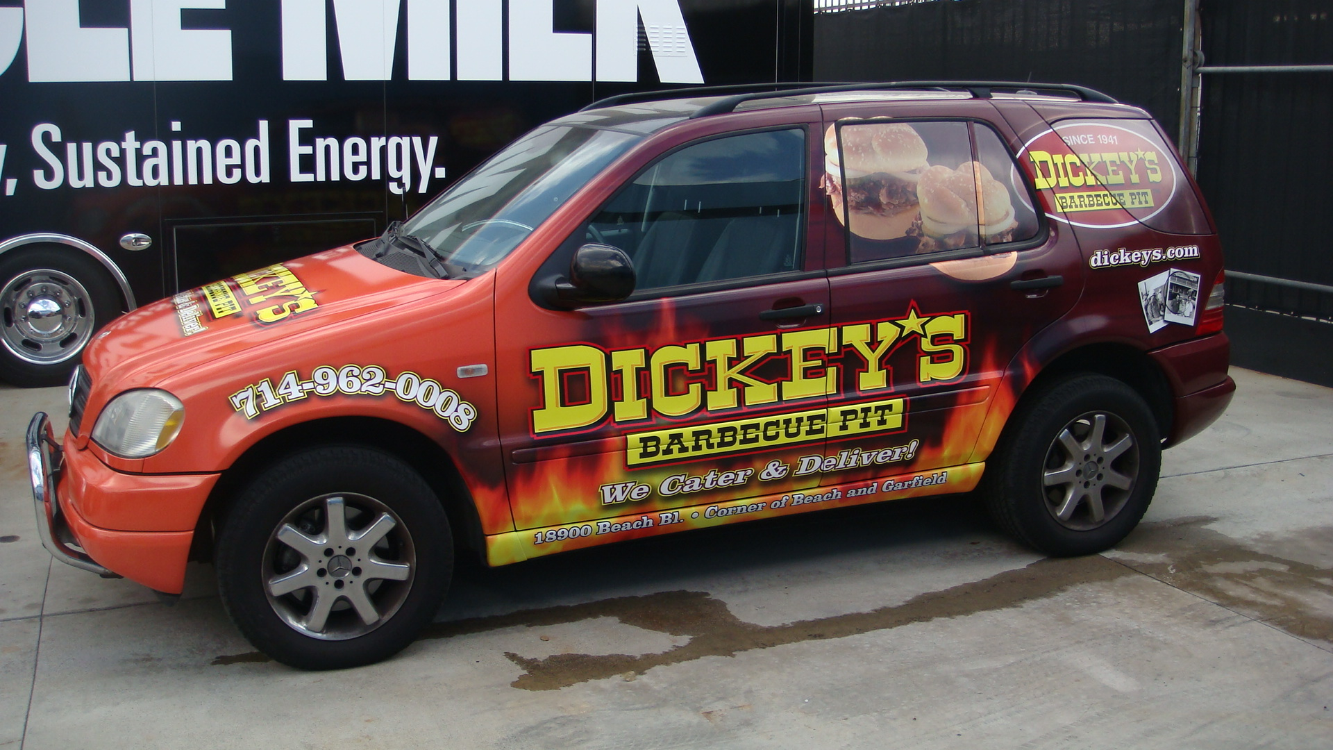 Dickey's Huntington Beach Ca,  Dickey's Vehicle Wraps, Vehicle Wraps Dallas TX