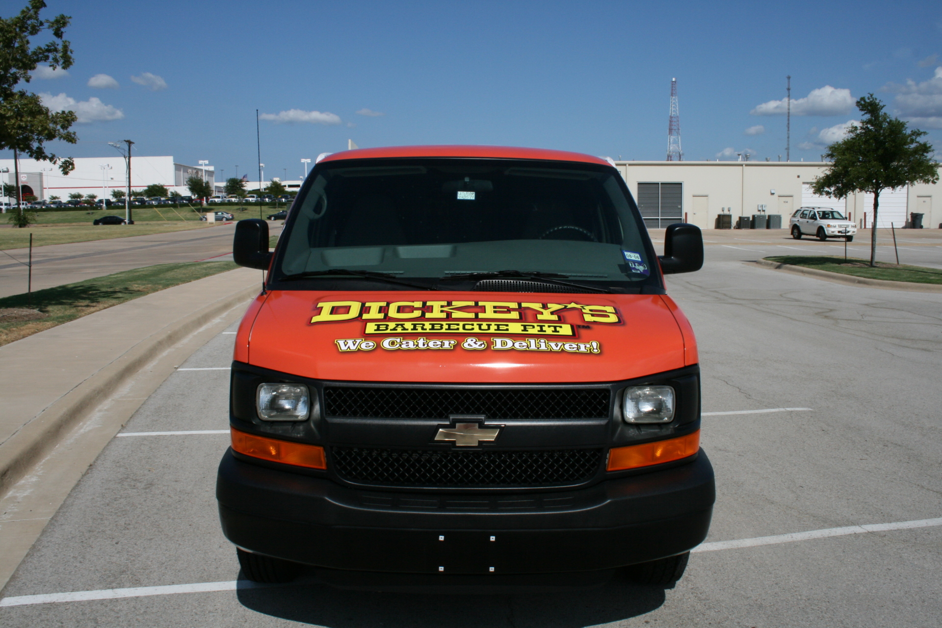 Dickey's Rockwall TX,  Dickey's Vehicle Wraps, Vehicle Wraps Dallas TX