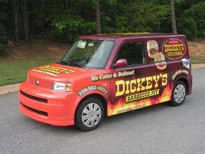 Dickey's Snellville GA,  Dickey's Vehicle Wraps, Vehicle Wraps Dallas TX