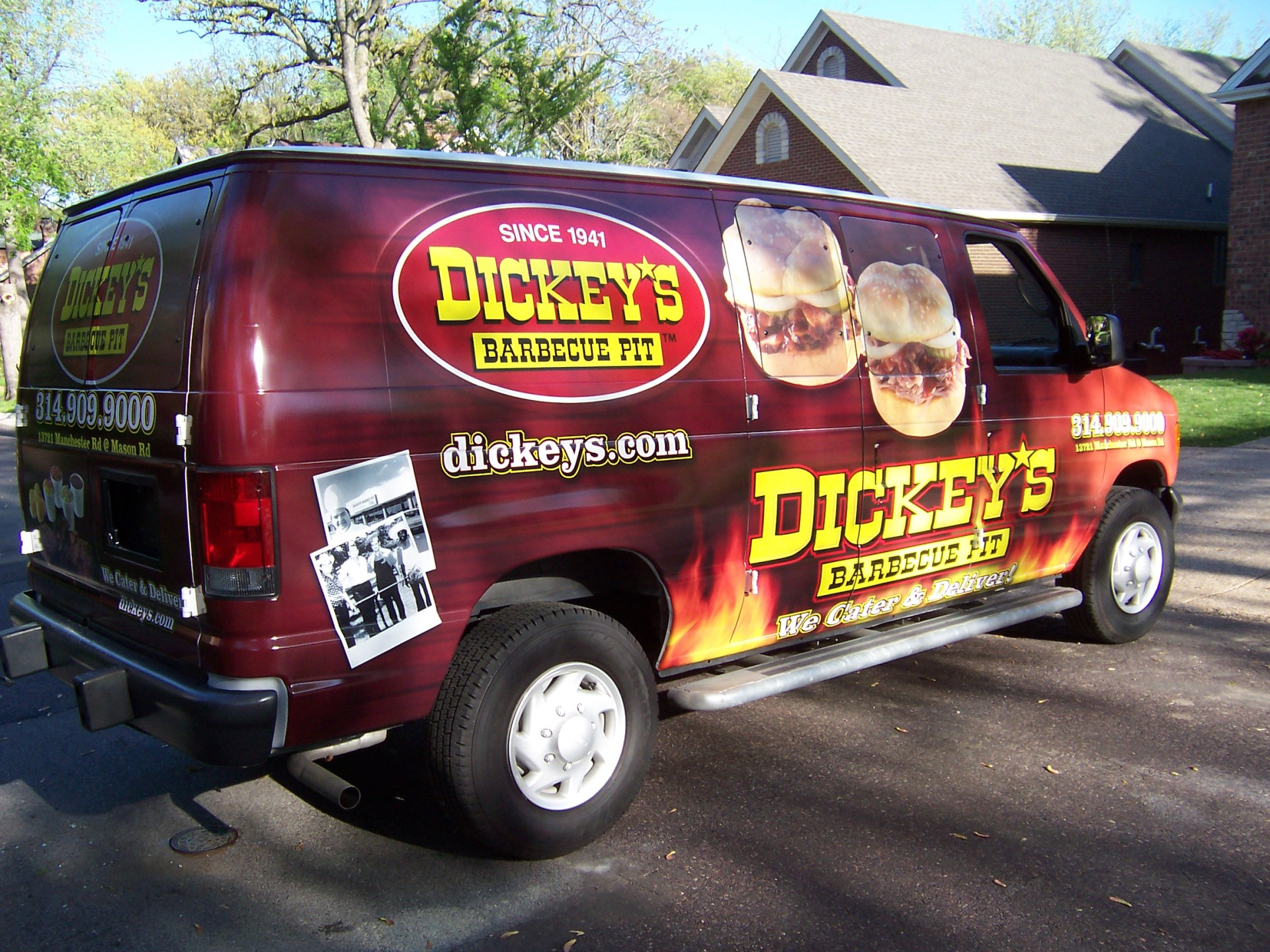 Dickey's St Louis MO,  Dickey's Vehicle Wraps, Vehicle Wraps Dallas TX