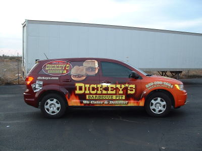 Dickey's Tucson AZ,  Dickey's Vehicle Wraps, Vehicle Wraps Dallas TX