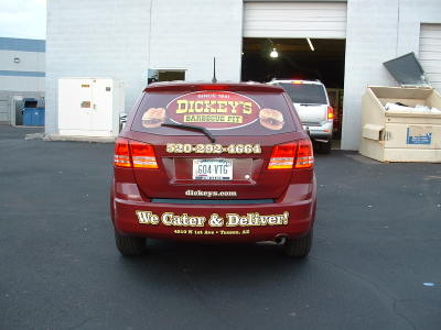 Dickey's Tucson AZ,  Dickey's Vehicle Wraps, Vehicle Wraps Dallas TX