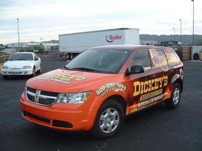 Catering van wrap, catering car wrap