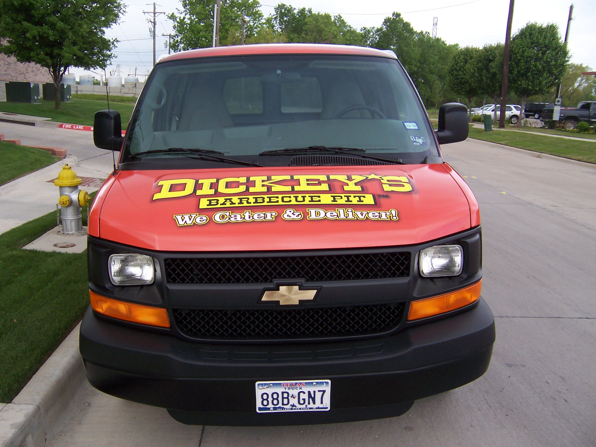 Dickey's Dallas  TX,  Dickey's Vehicle Wraps, Vehicle Wraps Dallas TX