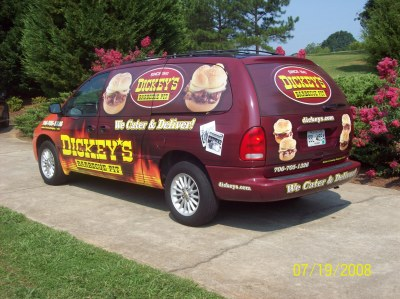 Dickey's Watkinsville  GA,  Dickey's Vehicle Wraps, Vehicle Wraps Dallas TX