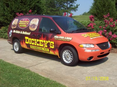 Dickey's Watkinsville  GA,  Dickey's Vehicle Wraps, Vehicle Wraps Dallas TX