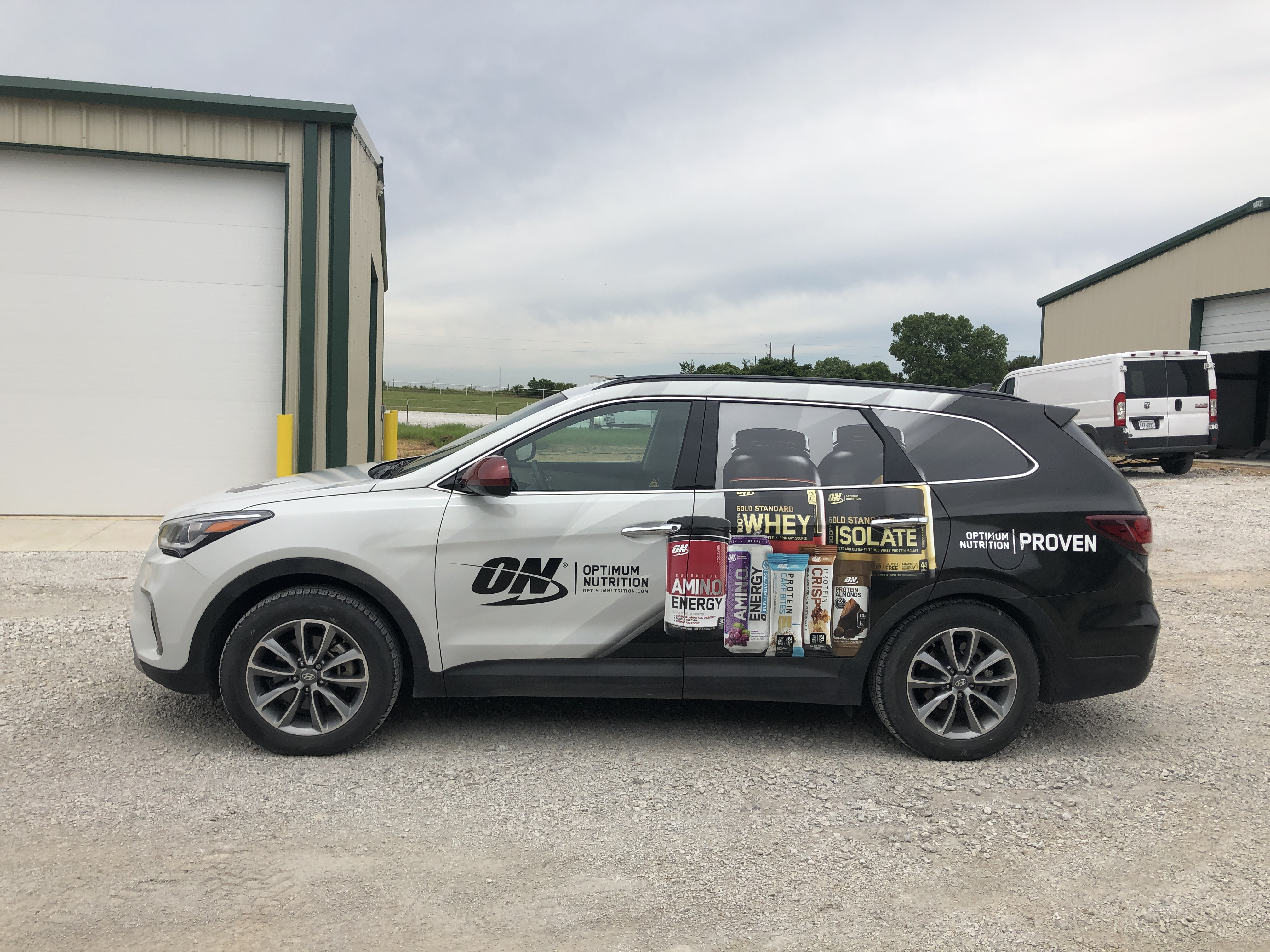 Suv Commercial Wrap