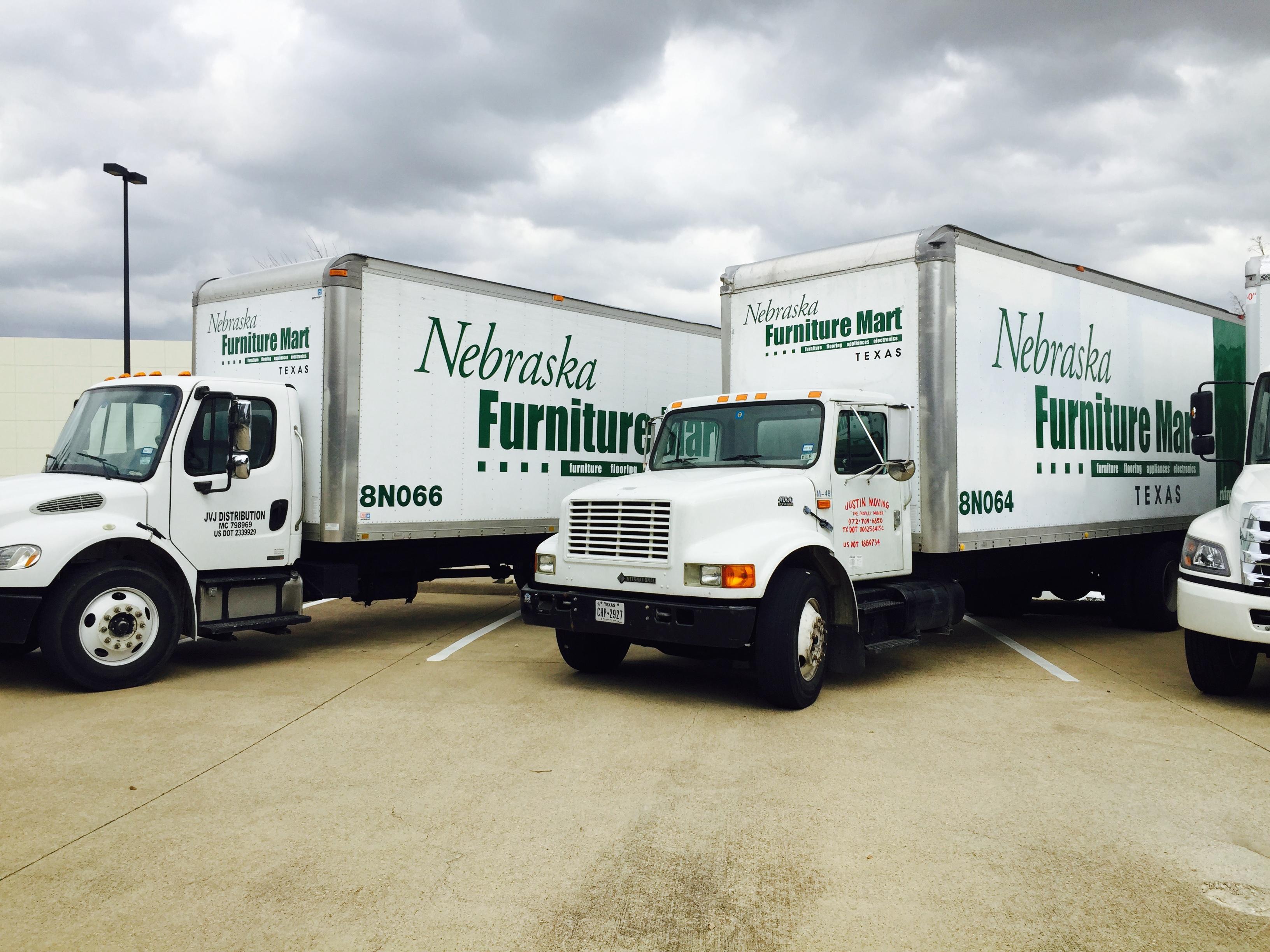 Nebraska Furniture Mart Box Trucks