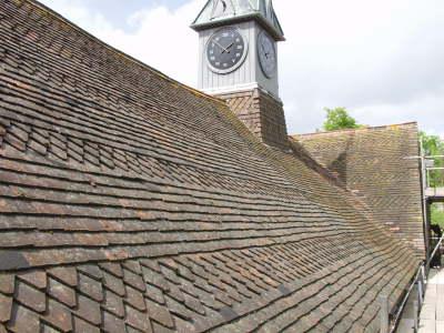 Bolney Grange Roof - Complete