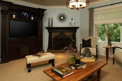 PASADENA SHOWCASE HOUSE FOR THE ARTS 2013 UPSTAIRS FAMILY ROOM
