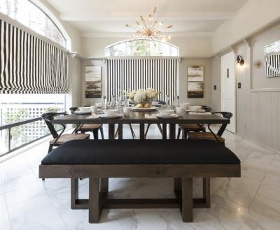 PASADENA SHOWCASE HOUSE FOR THE ARTS 2016 BREAKFAST ROOM