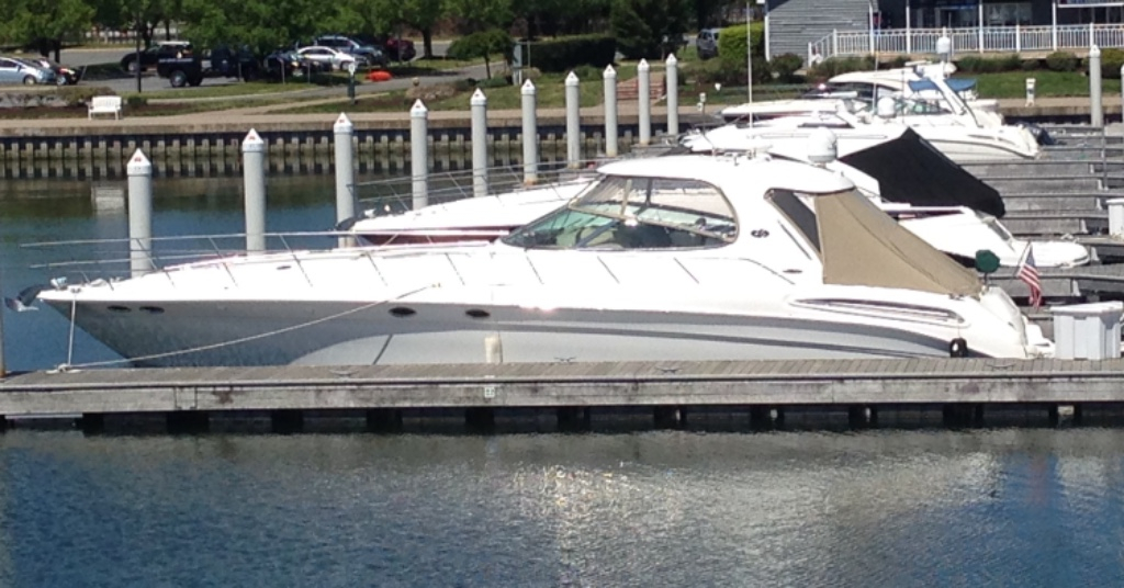 2005 SEA RAY 550 SUNDANCER
