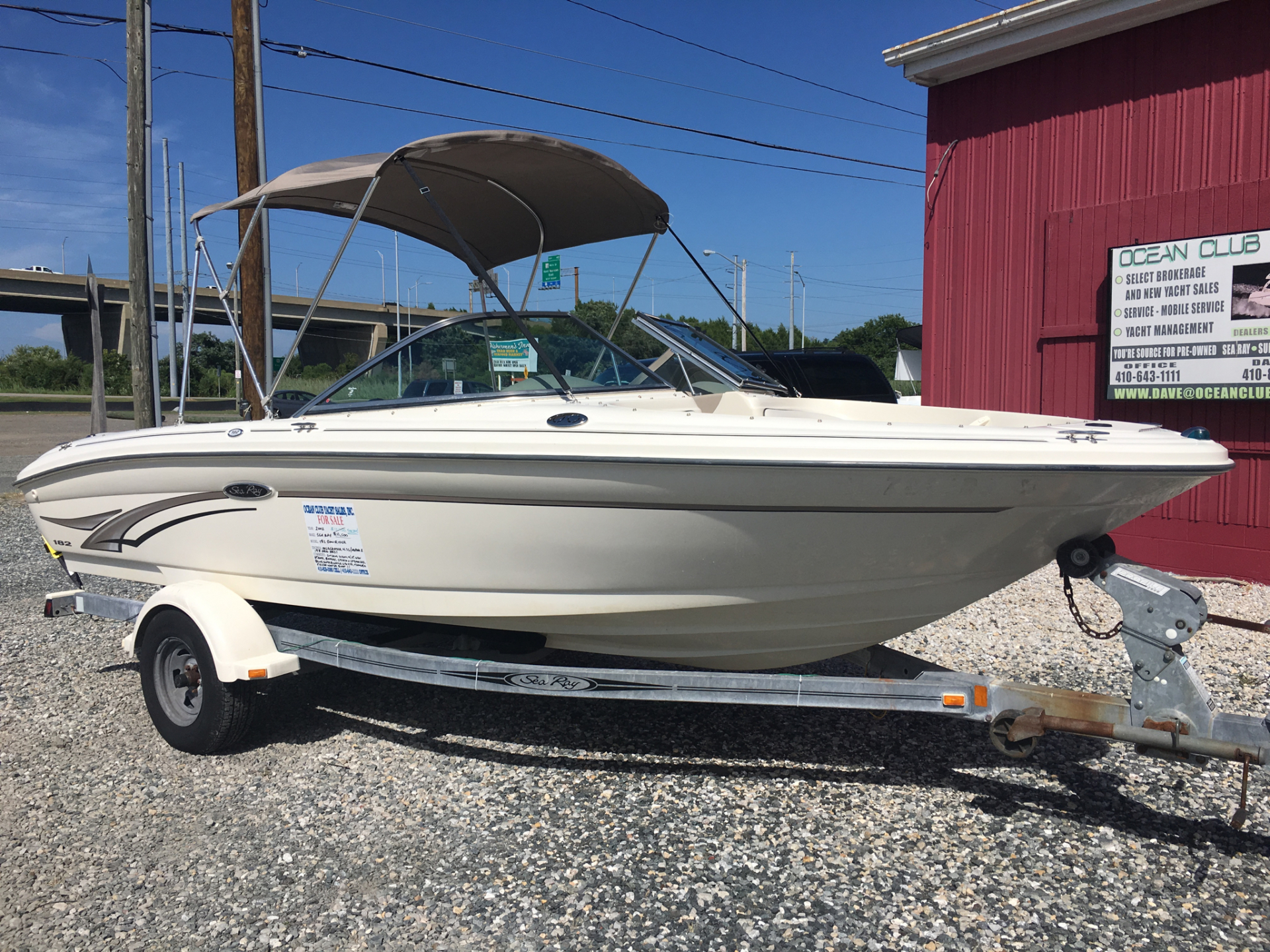 2002 SEARAY 182 BOWRIDER