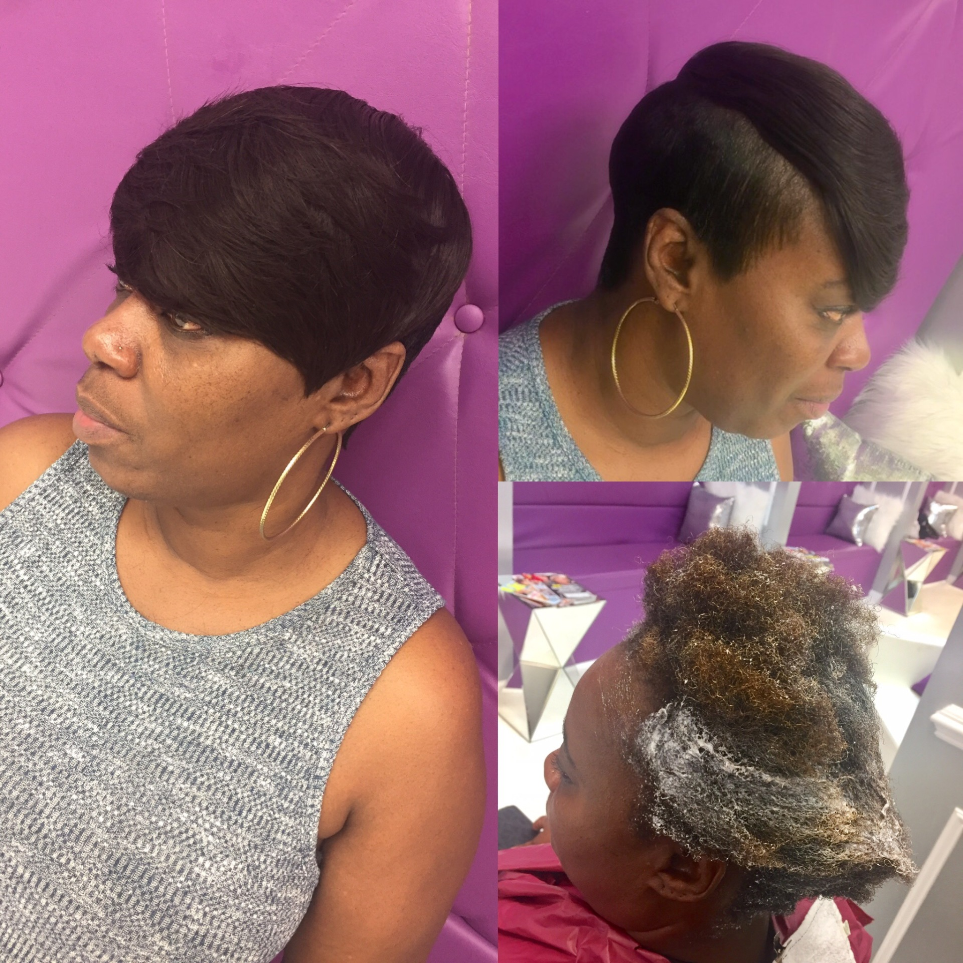 Relaxer cut n style