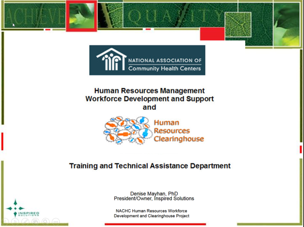 Human Resources Management Development and Support Services